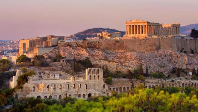 Acrópolis de Atenas Grecia