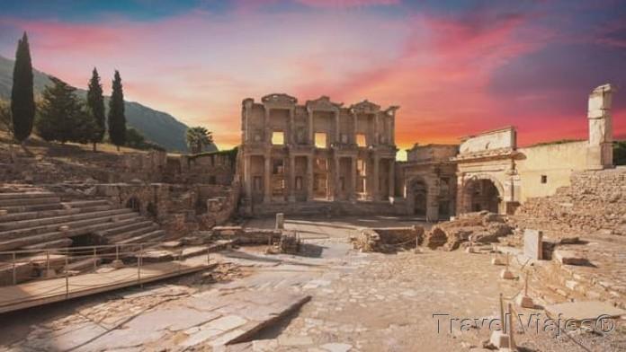 Biblioteca de Celso Éfeso Turquia