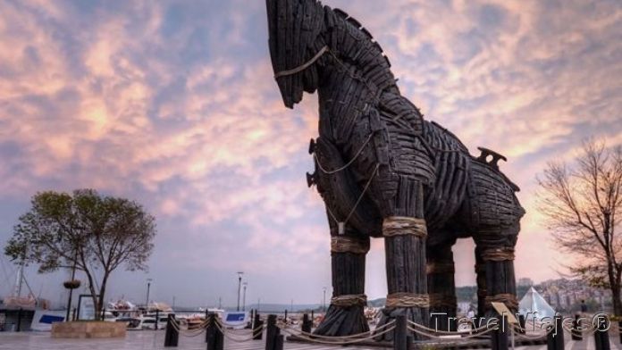 Caballo de Troya Çanakkale Turquía