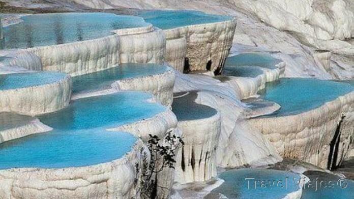 Cascadas Petrificadas de Pamukkale Turquía