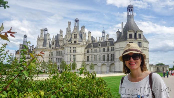 Castillo de Chambord Valle del Loira Francia