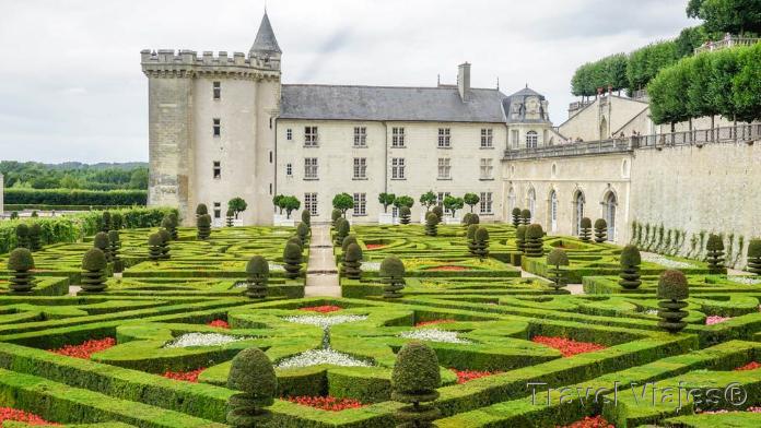 Castillo de Villandry Valle del Loira Francia