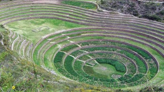Centro Arqueológico de Moray Perú