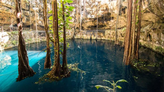 El Cenote San Lorenzo Oxman Yucatán