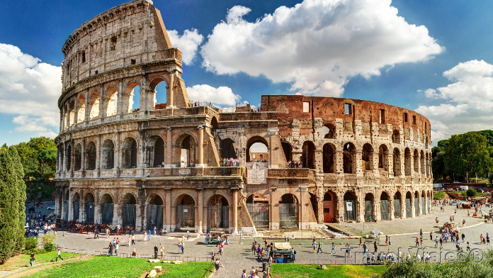 El Coliseo de Roma Italia