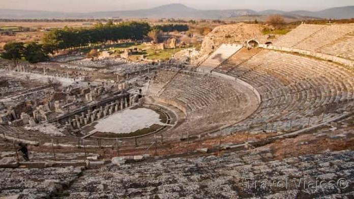 El Gran Teatro de Éfeso Turquía