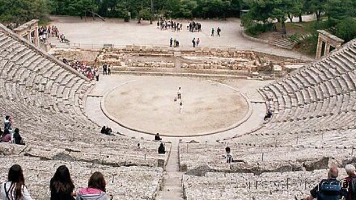 El Teatro de Epidauro Argólida Peloponeso