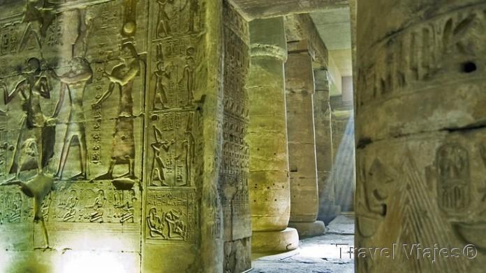 El Templo de Abydos Egipto