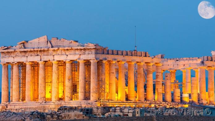 El Templo Partenón Atenas Grecia