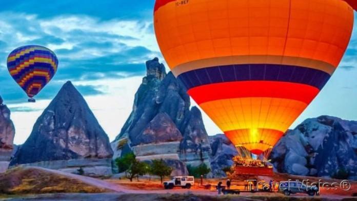 Globo Aerostático Capadocia Turquía
