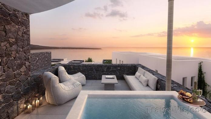 Hotel en Santorini Grecia