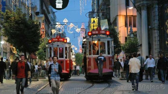 Istiklal Street Estambul Turquía