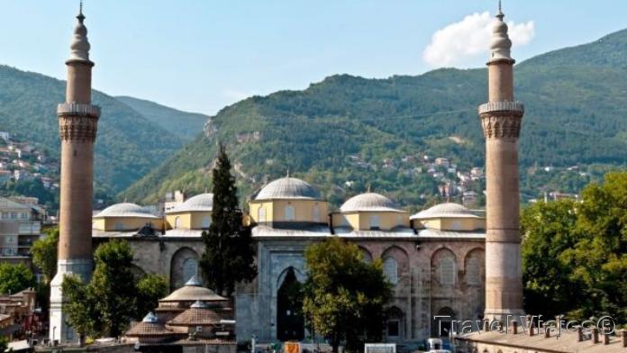 La Mezquita Ulu Cami Bursa Turquia