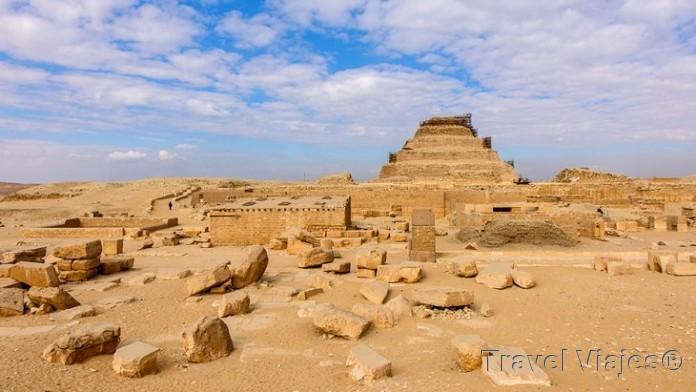 La Necrópolis de Saqqara Cairo
