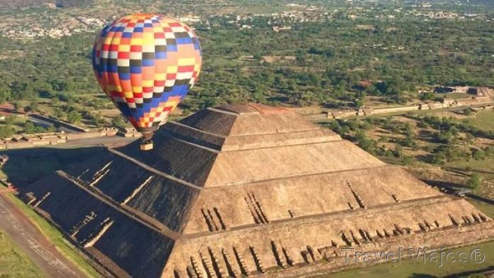 Las Pirámides de Teotihuacán México