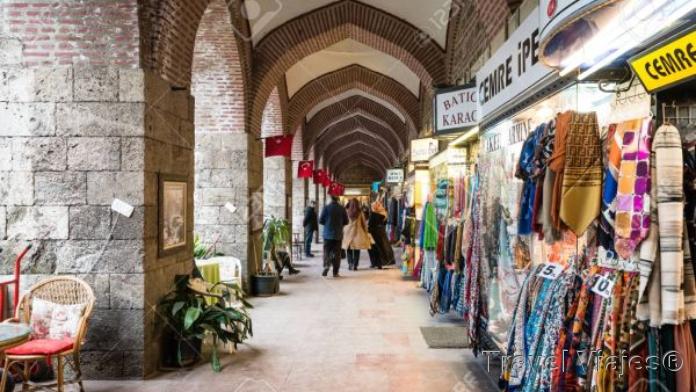 Mercado de La Seda Bursa Turquia