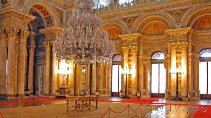 Palacio de Dolmabahce Estambul Turquía
