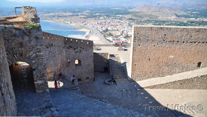 Palamidi Castle Nauplia Argólida Peloponeso