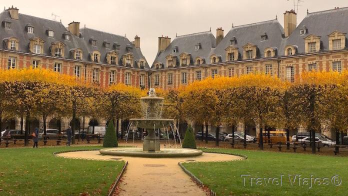 Place Des Vosges París Francia