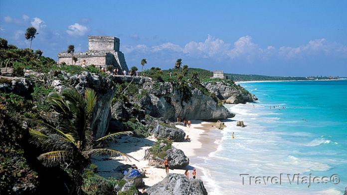Playa de Tulúm Riviera Maya México