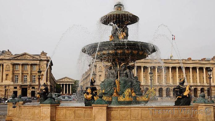 Plaza de La Concordia París Francia