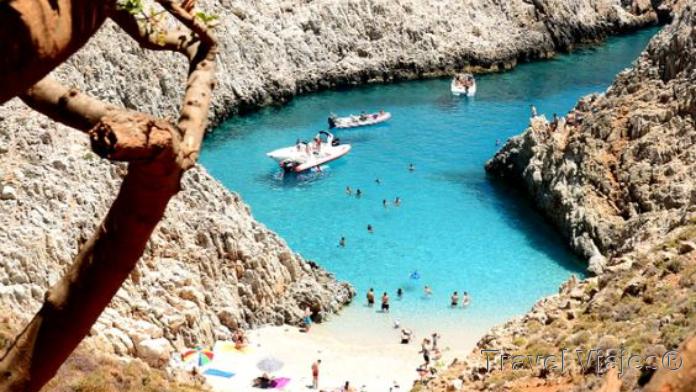 Seitan Limania Beach Creta Grecia
