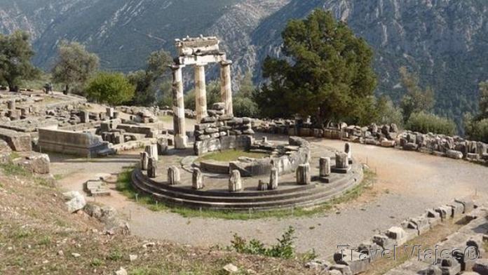 Templo de Apolo Delfos Grecia