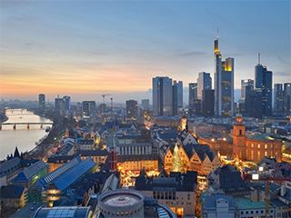 Alemania Frankfurt Ciudad De Frankfurt