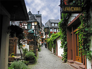 Alemania Rudesheim Rudesheim