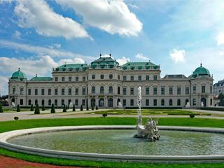 Austria Viena Palacio Belvedere