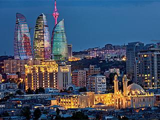 Azerbaiyan Baku Ciudad De Baku
