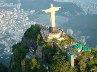 Brasil Rio De Janeiro Cristo De Corcovado