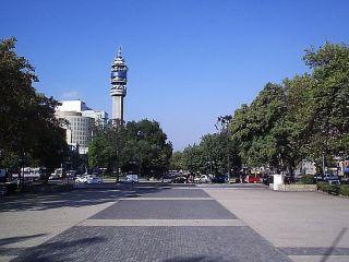 Chile Santiago De Chile Alameda