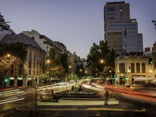Chile Santiago De Chile Barrio Arte