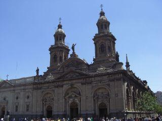 Chile Santiago De Chile Catedral Santiago De Chile
