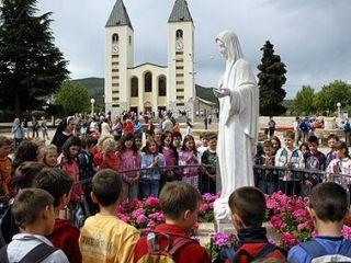 Croacia Medjugorje Santuario De La Virgen