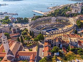 Croacia Pula Anfiteatro De Pula