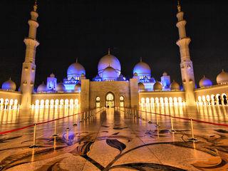Dubai Abu Dhabi Mezquita Mas Lujosa