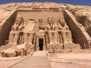 Egipto Abum Simbel Templo De Abu Simbel