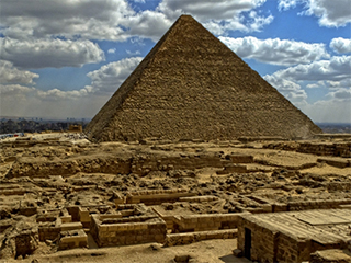 Egipto Cairo Piramide De Keops