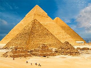 Egipto Cairo Piramides De Giza