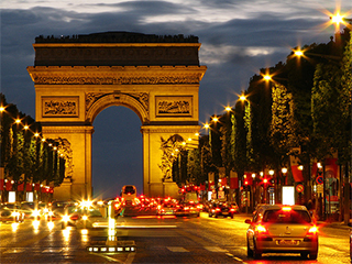 Francia Paris Campos Eliseos