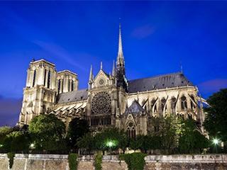 Francia Paris Catedral De Notre Dame