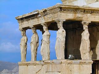 Grecia Atenas Templo Erecteion