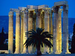 Grecia Atenas Templo Zeus