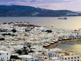 Grecia Mykonos Landscape