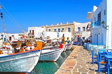 Grecia Paros Puerto Naoussa