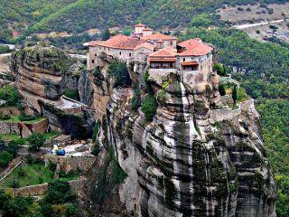 Grecia Tesalia Monasterios De Meteora
