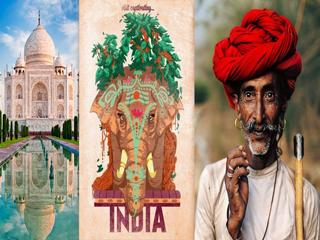 India India Triangulo Dorado