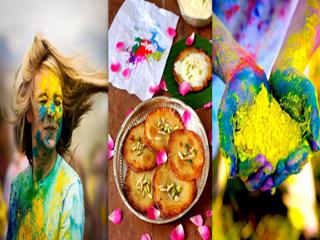 India Jaipur Celebracion De Holi